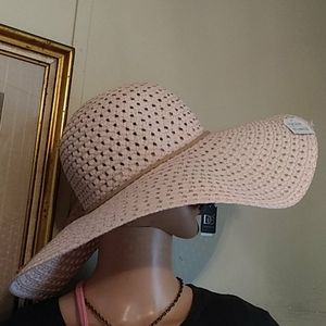 Nwt Straw Floppy hat